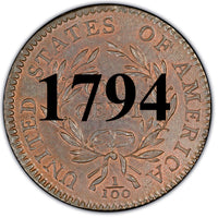 1794 Liberty Cap Large Cent