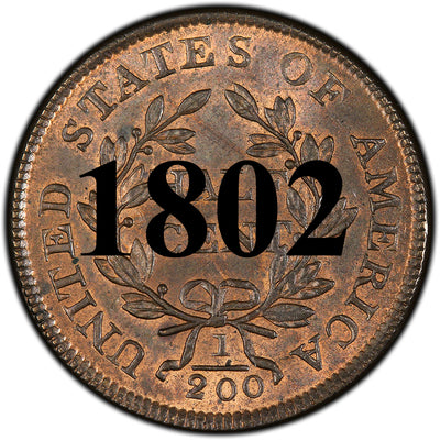 1802 Draped Bust Half Cent