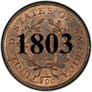 1803 Liberty Cap Half Cent