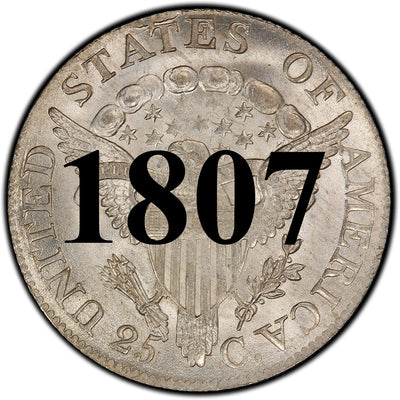 1807 Draped Bust Quarter