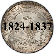 1824-1836 Capped Bust Half Dollar
