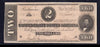 1864 $2 (T-70) Richmond, Virginia - Confederate Currency -
