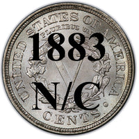 1883 No Cents Liberty Nickel