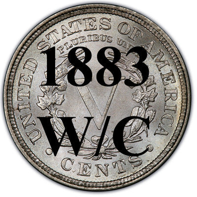 1883 W/C Liberty Nickel