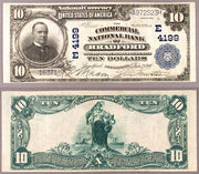 "1902 $10 ""William McKinley"" National Bank Note"