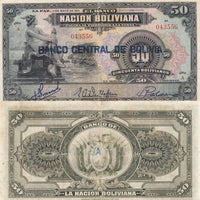 "1911 Bolivia 1 Boliviano ""Mercury"" World Currency ,"