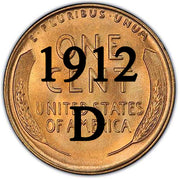 1912-D Lincoln Wheat Cent