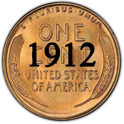 1912 Lincoln Wheat Cent