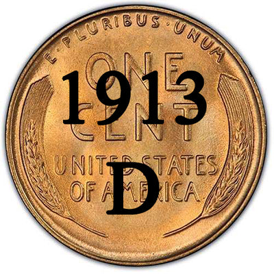 1913-D Lincoln Wheat Cent