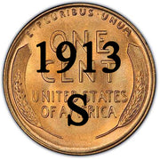 1913-S Lincoln Wheat Cent