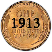 1913 Lincoln Wheat Cent