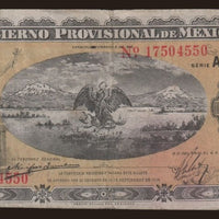 "1914 Mexico  1 Peso ""Libertad / Eagle""  Size: Large ~ World Currency"