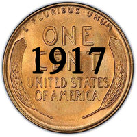 1917 Lincoln Wheat Cent