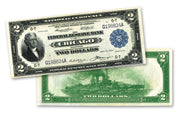 "1918 $2 ""Battleship"" Federal Reserve Bank Note"