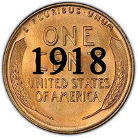 1918 Lincoln Wheat Cent