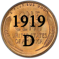 1919-D Lincoln Wheat Cent