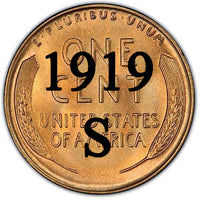 1919-S Lincoln Wheat Cent