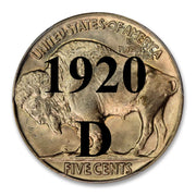 1920-D Buffalo Nickel