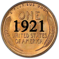 1921 Lincoln Wheat Cent