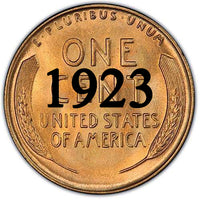 1923 Lincoln Wheat Cent