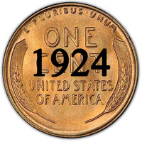 1924 Lincoln Wheat Cent