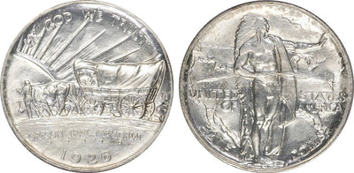 1926-39 Oregon Trail Commemorative Half Dollar