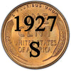 1927-S Lincoln Wheat Cent