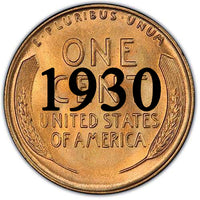 1930 Lincoln Wheat Cent