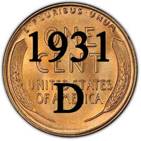 1931-D Lincoln Wheat Cent