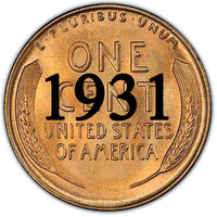 1931 Lincoln Wheat Cent