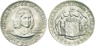 1934 Maryland Commemorative Half Dollar