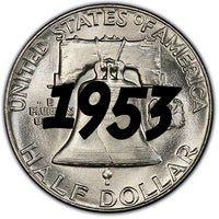1953 Franklin Half Dollar
