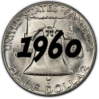 1960 Franklin Half Dollar