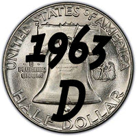 1963-D Franklin Half Dollar