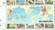 "1990 WWII Series ""1941: A World at War"" Stamp Sheet"