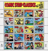 "1995 Classics Collection ""Comic Strip Classics"" Stamp Sheet"
