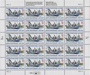 "1995 US Naval Academy ""150th Anniversary"" Stamp Sheet"
