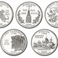 2000 State Quarters, Uncirculated