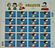 "2000 Peanuts Collection ""Flying Ace Snoopy"" Stamp Sheet"
