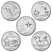 2004 State Quarters, Uncirculated