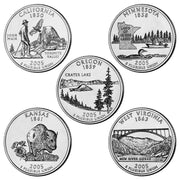 2005 State Quarters, Uncirculated