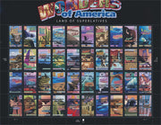 "2005 Wonders of America ""Land of Superlatives"" Stamp Sheet"