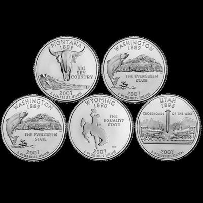 2007 State Quarters, Uncirculated