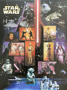 "2007 Star Wars ""30th Anniversary"" Stamp Sheet"