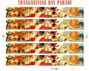 "2008 Holiday Series ""Thanksgiving Day Parade"" Stamp Sheet"