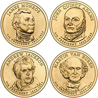 2008 Presidential Dollars, Uncirculated