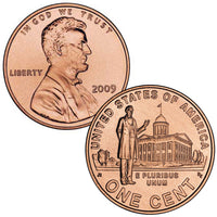 2009 Lincoln Commemorative Cents