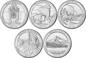 2010 National Park Quarters, Uncirculated