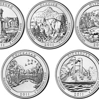 2011 National Park Quarters, Uncirculated