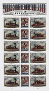 "2011 Transcontinental Railroad ""150th Anniversary"" Stamp Sheet"